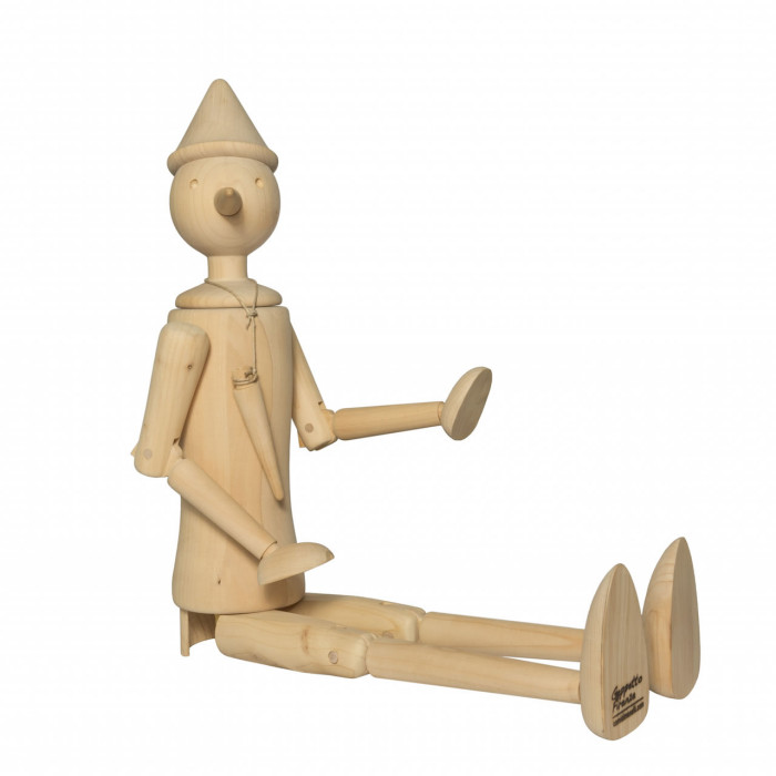 Carved wood Pinocchio