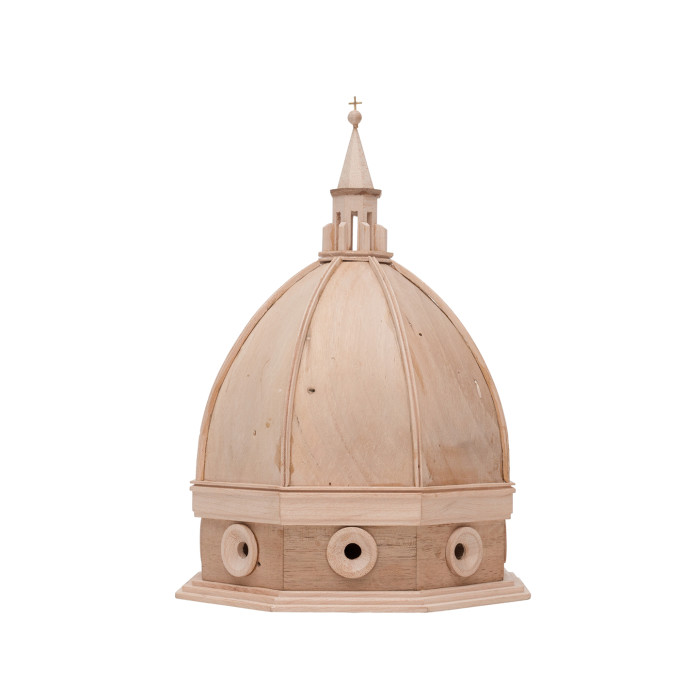 Cathedral wooden dome